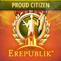 Citizen of Erepublik Badge - 125x125px