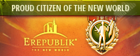 Citizen of Erepublik Badge - 125x80px