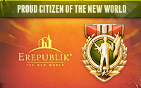 Citizen of Erepublik Badge - 200x125px